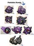 Pokedex Kanto : Grimer to Onix (n 88 to 95)