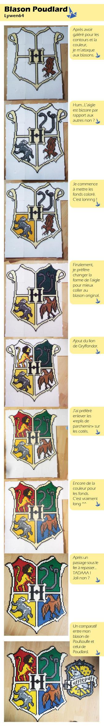 Step by step Hogwarts by Lywen64