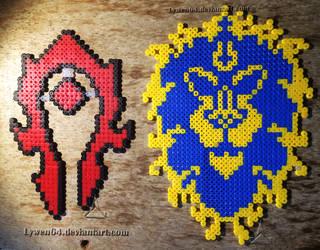 Horde ou Alliance ? by Lywen64