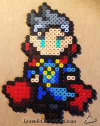 Dr Strange Pixel Art by Lywen64