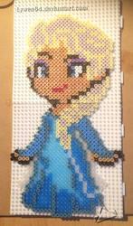 Elsa de La Reine des Neiges by Lywen64