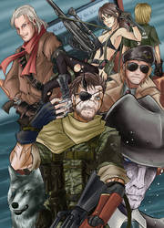 Metal Gear Solid V The Phantom Pain by VincentStrider