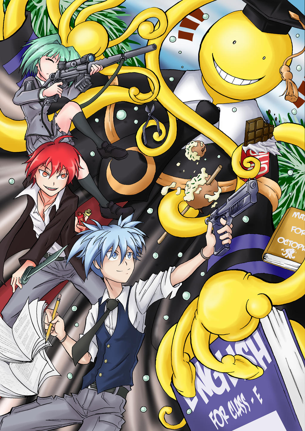 Assassination classroom by vincentstrider on deviantart - Anime wallpaper assassination classroom ...