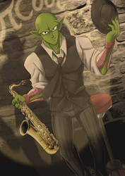 Piccolo Jazz by VincentStrider