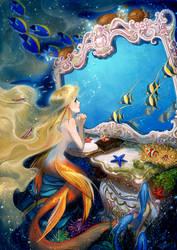 mermaid by purin-p
