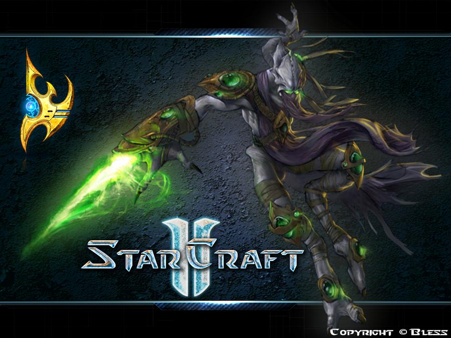 Starcraft 2 protoss wallpaper by blessstyleboy on deviantart - Starcraft 2 wallpaper art ...