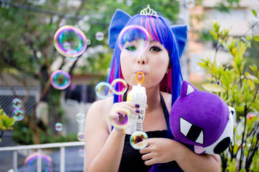 Anarchy Stocking and bubbles by andyamasaki