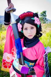Momohime Princess of Narukami by andyamasaki