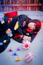 Enma Ai resting