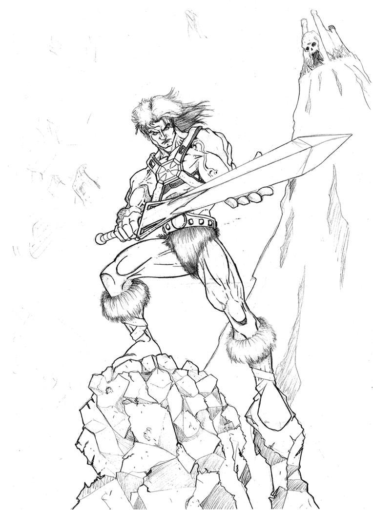he-man pencils by androsm