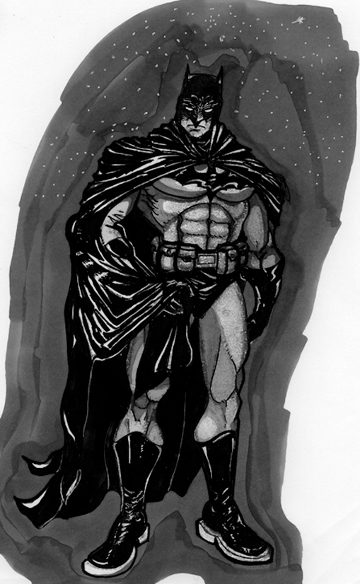 batman-marker by androsm