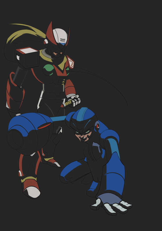 Megaman W.I.P by androsm