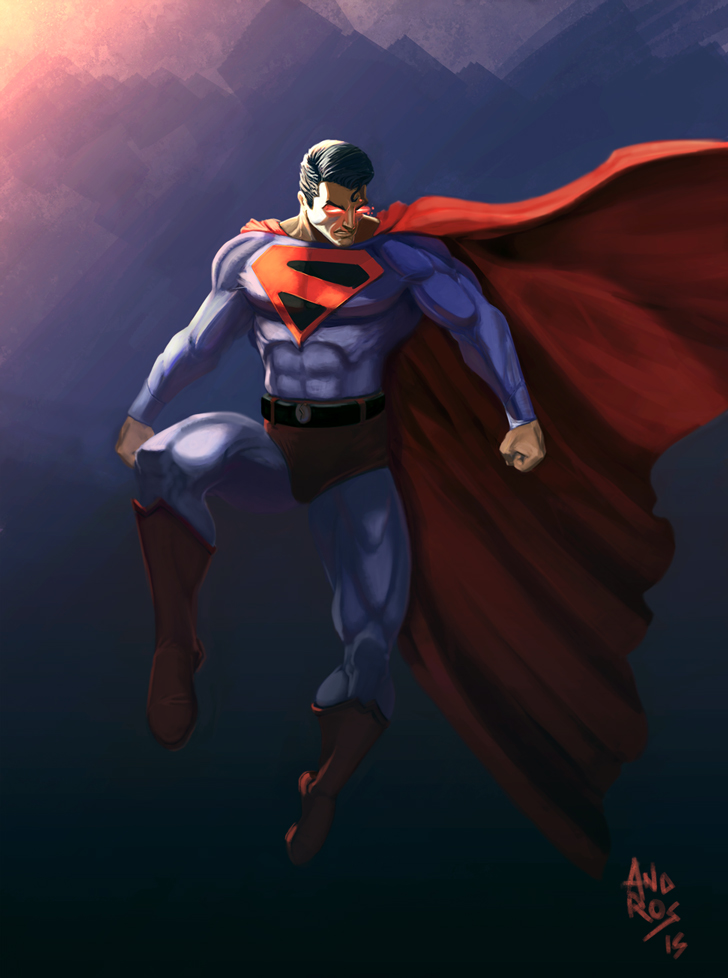 Man of steel by androsm
