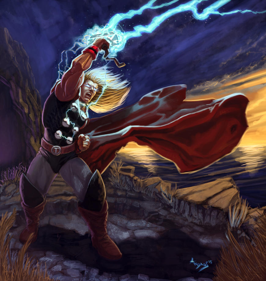 The mighty Thor by androsm