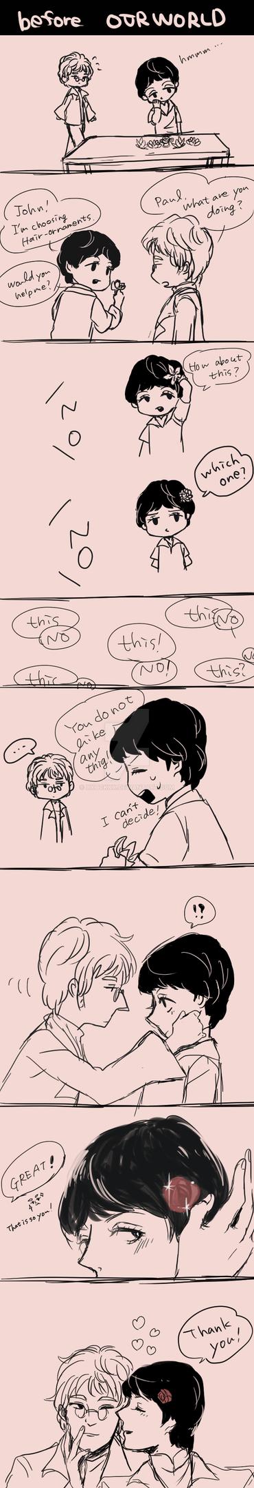 doodle comic by xxHCKxx