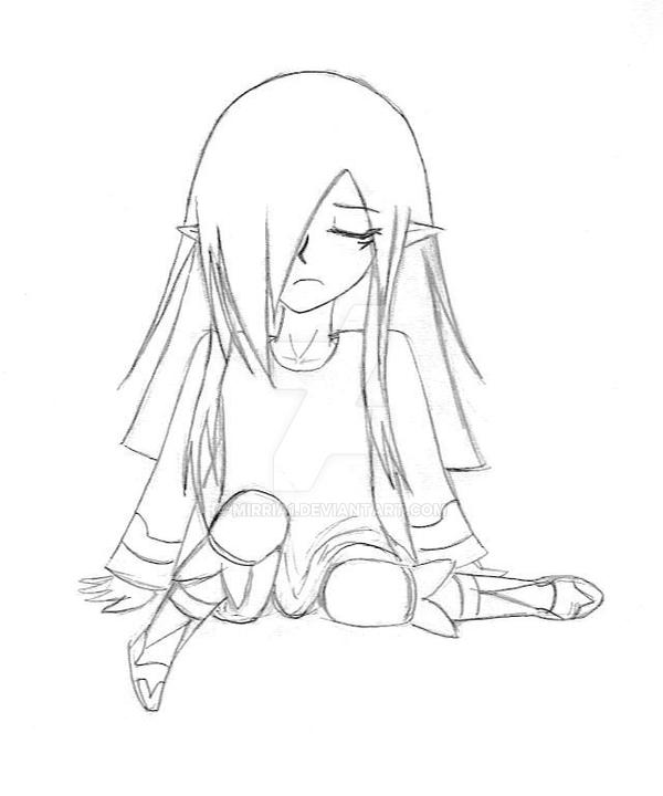 Sad Vaati sketch by Mirria1
