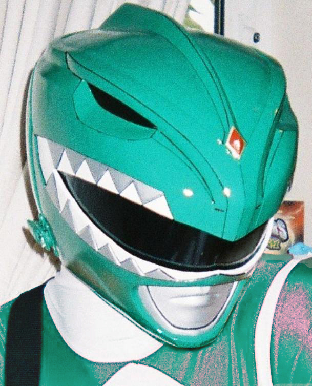 Finished Green Ranger helmet by KaraZor-El