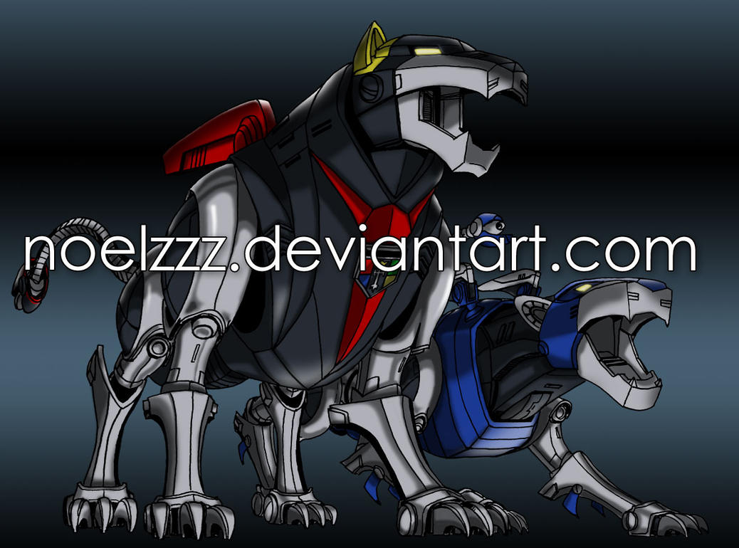 Voltron Force - Black and Blue coloured preview by noelzzz ...