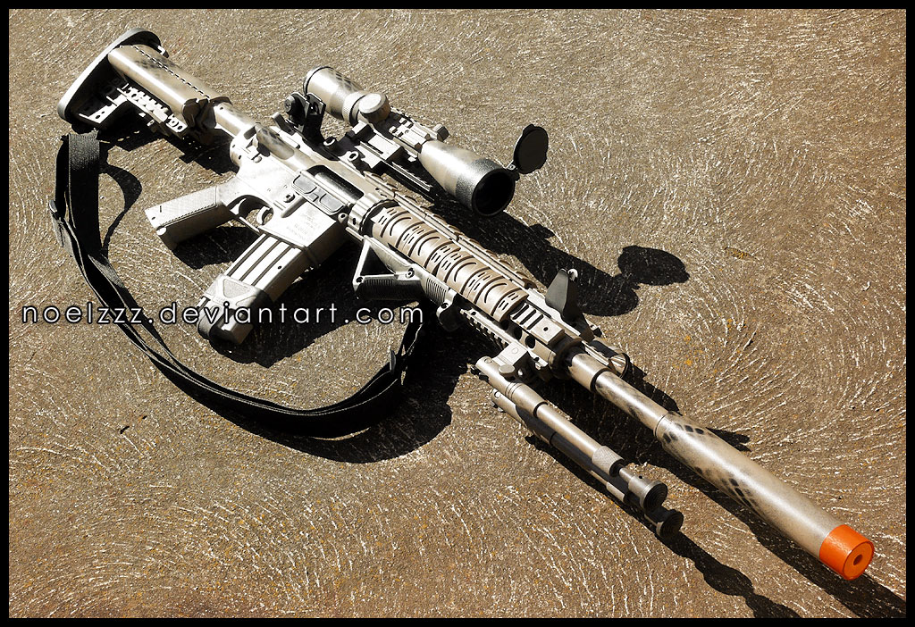 Special Purpose Rifle - Mk12 Mod 1 by noelzzz