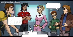 Voltron Force fan comic preview - Planning by noelzzz
