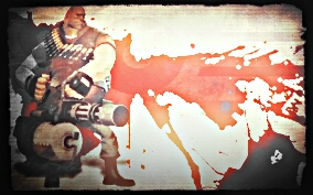 Heavyweapons Guy by Freasaloz