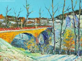 Alexander Jose, Winter. France by Joseartgallery