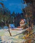 Alexander Jose, Winter Landscape. Austria