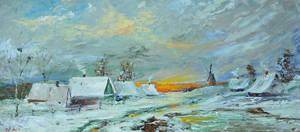 Alexander Jose, Winter in the Village. Ukraine.
