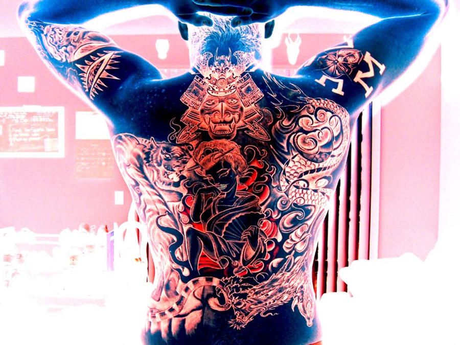 1000 images about mighty mighty fine tattoos on pinterest irezumi japanese tattoos and jeff. Black Bedroom Furniture Sets. Home Design Ideas