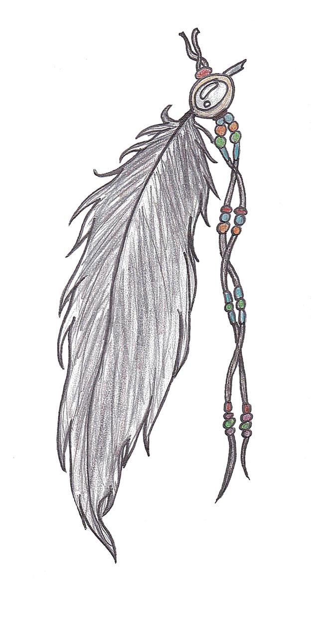 feather tattoo by rezuga on deviantart. Black Bedroom Furniture Sets. Home Design Ideas