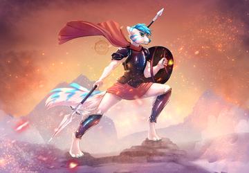 Spear Hero by e-Pon