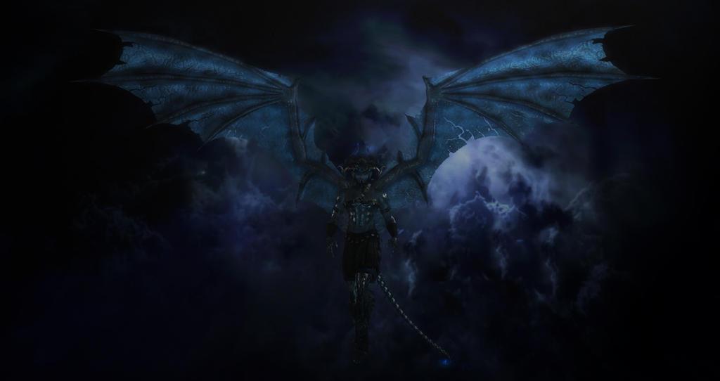 Demonic tempest by TithisString