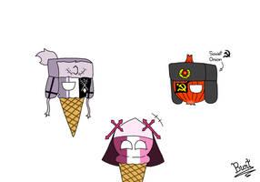 Ice cream Sarv and Ruv meet Soviet Onion