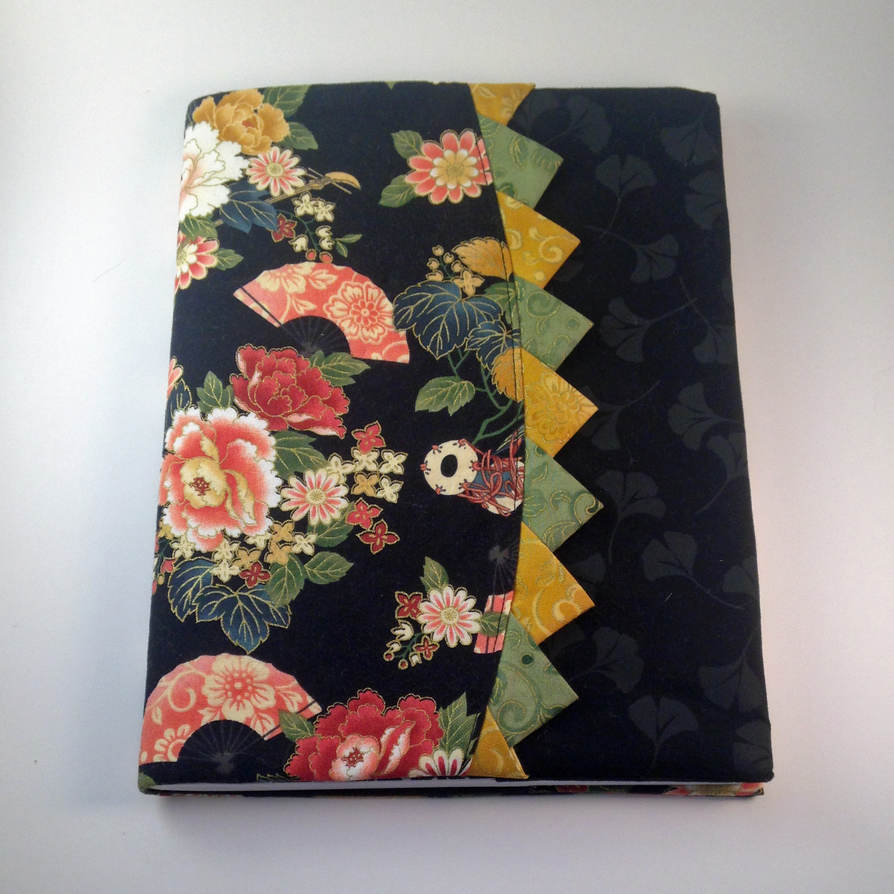 Notebook Cover Art ~ Fabric notebook cover by pocketchibisandsuch on deviantart