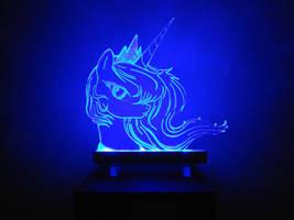 MLP Acrylight - Princess Luna [2] by VasGoTec