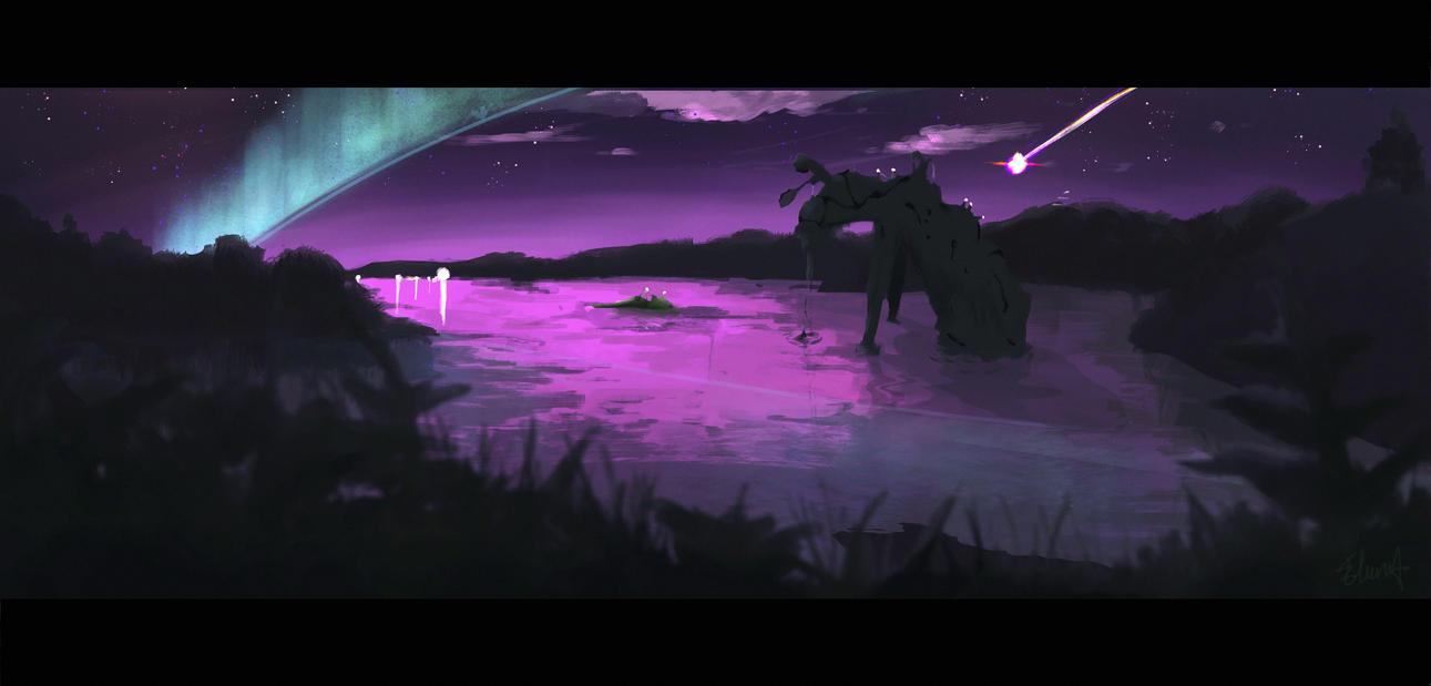 swamp by elurraa