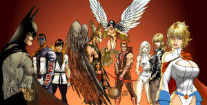 Allarey_Justice League by Danlorstudio