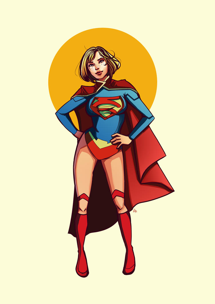 Supergirl new 52 by warnia
