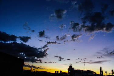 Rhino in the sky by Gaaramiguel