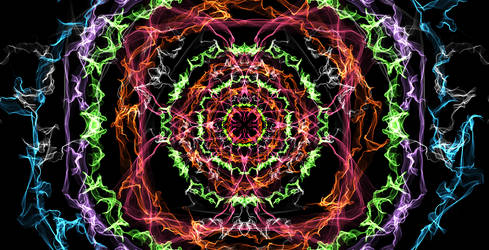 Silk circles by Gaaramiguel