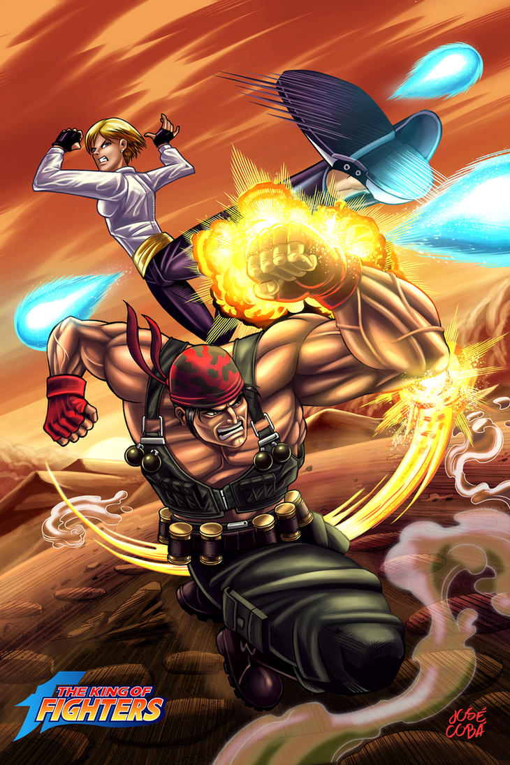 THE KING OF FIGHTERS by VdVector