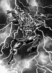 Thor Ragnarok Inks by VdVector
