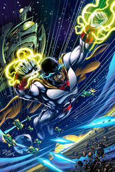 SPACE GHOST Final by VdVector