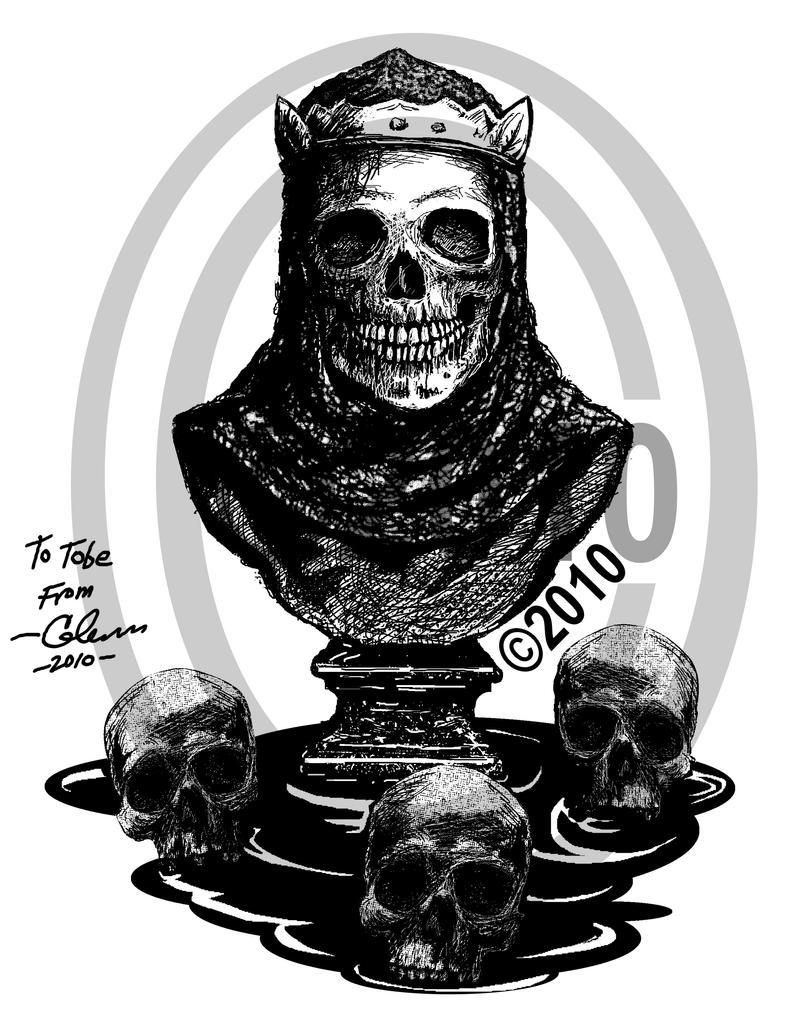 CrusaderSkull by GlennDiddit on DeviantArt