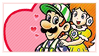 Daisy x Luigi by MadameBordella