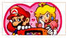 Mario x Peach by Raneese