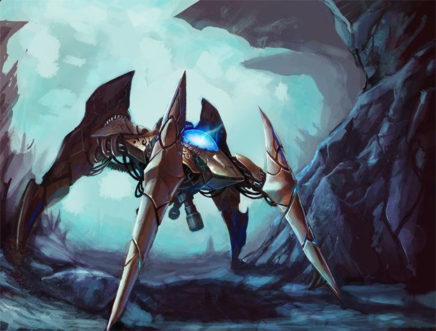 Protoss Dragoon 2007 by artquest7