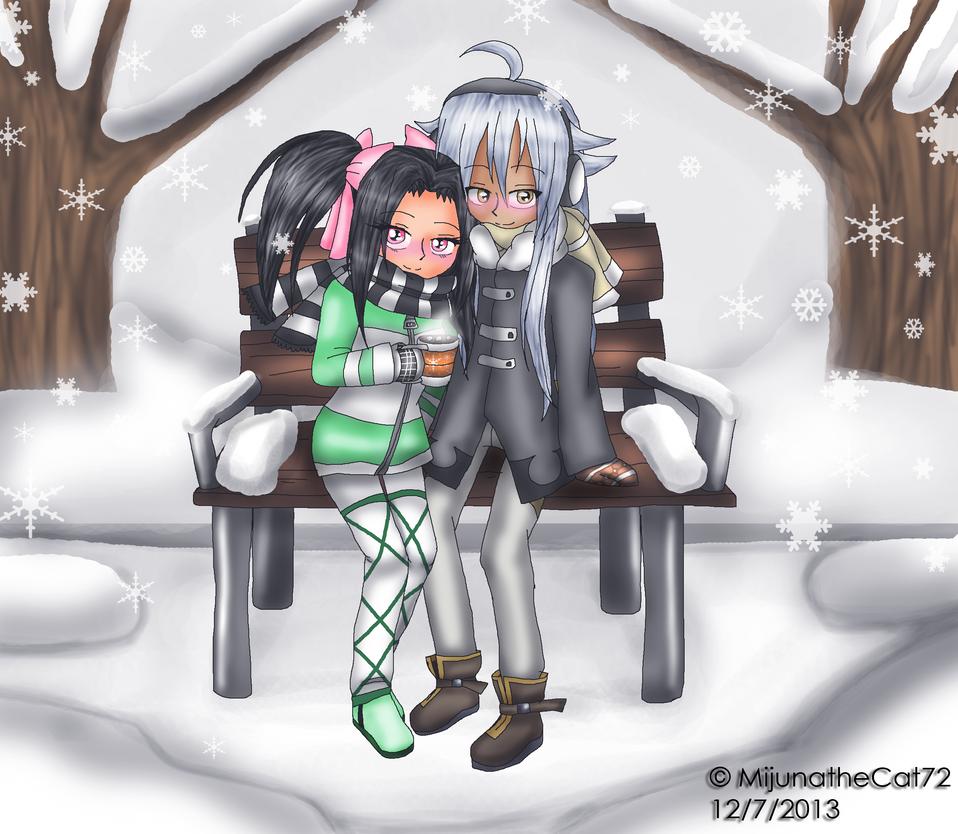 Request - Ayame and Tsubasa by MijunatheCat72