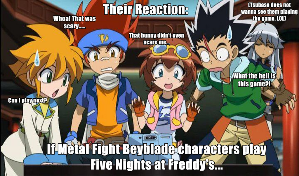 matchmaking 2 beyblade fanfic Beyblade fanfiction the blade breakers meet a skilled beyblader named yuu and his little brother at the park, after a beybattle with kai, he is offered a spot on the team.