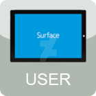 Microsoft Surface User - Large Version by neonglowify